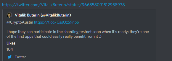 Ethereum Jumps on Rumors of Sharding Testnet Launching Soon