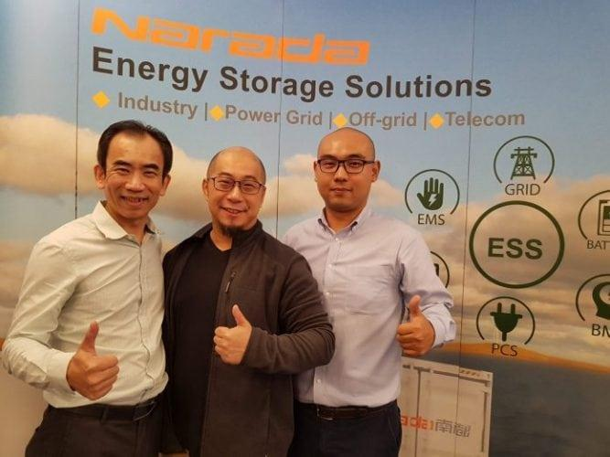 Narada Electrify partnership