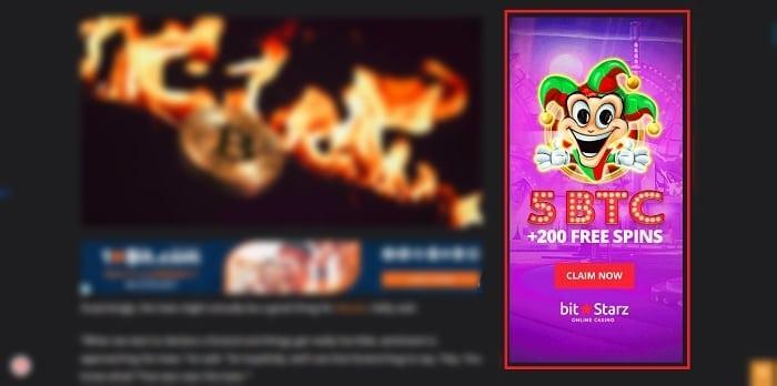 monster banner 300X600 bitcoin advertising