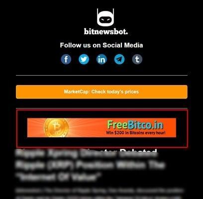 newsletter 468X60 banner advertising bitcoin banner advertising