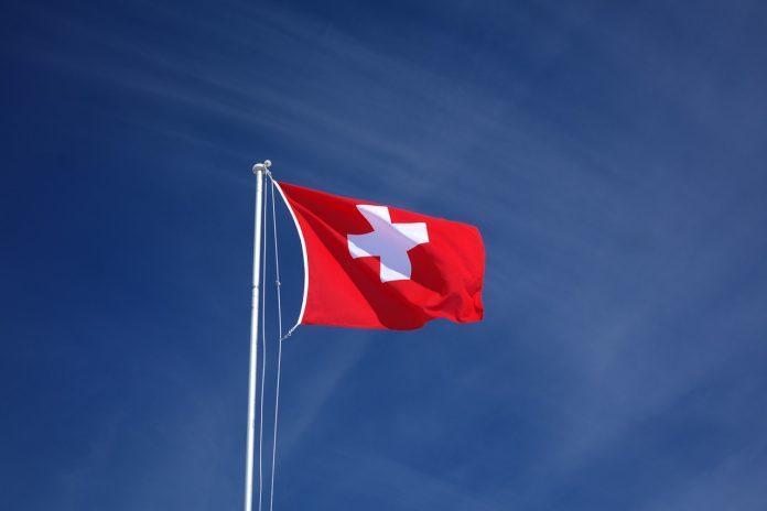 White Brier Red Switzerland Flag