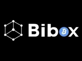 image featuring bibox's logo in black background