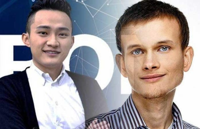 Tron (TRX) And Ethereum (ETH): Justin Sun Pokes Vitalik Buterin For An Older Remark On BitTorrent