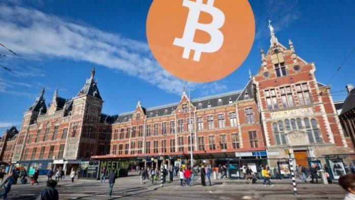 We tagged Amsterdam Central Station with naughty Bitcoin graffiti