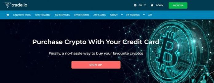 trade io buy crypto with credit card