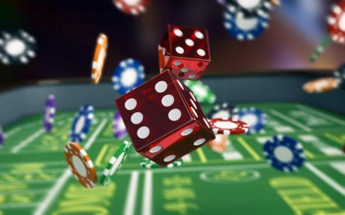 gambling table image