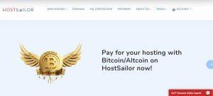 HostSailor Hosting Screenshot