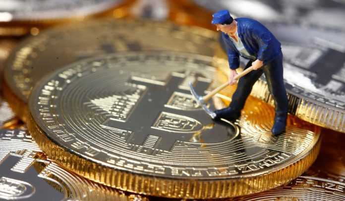 Bitcoin near two-week highs, fueled by hopes for Facebook's Libra