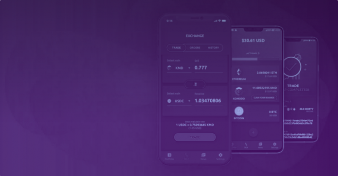 Komodo releases mobile app for making atomic swaps
