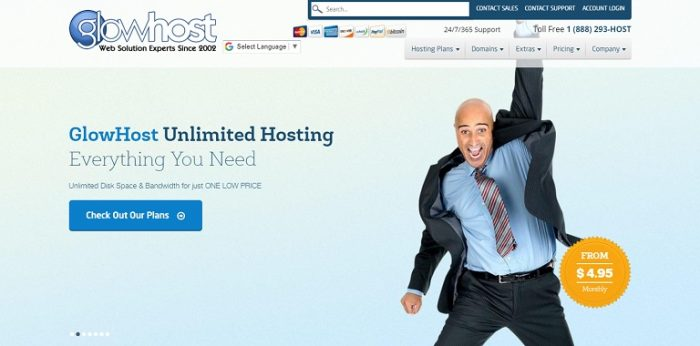 glowhost web hosting