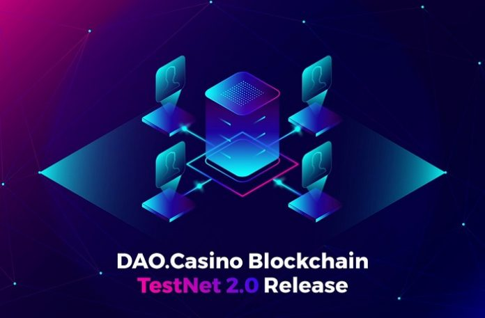 Dao.Casino-Blockchain-TestNet-2.0