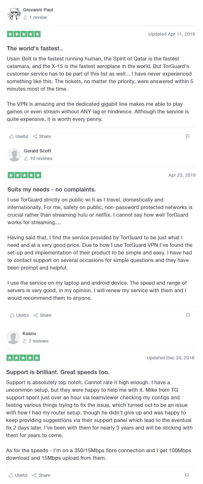 torguard vpn reviews
