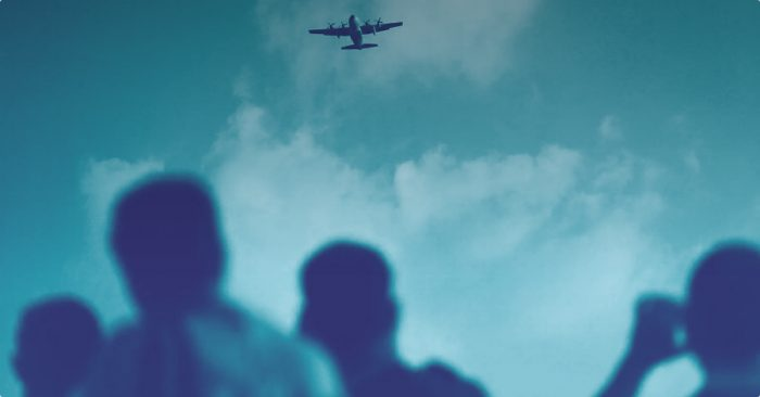 Meet the people who make a living from airdrops