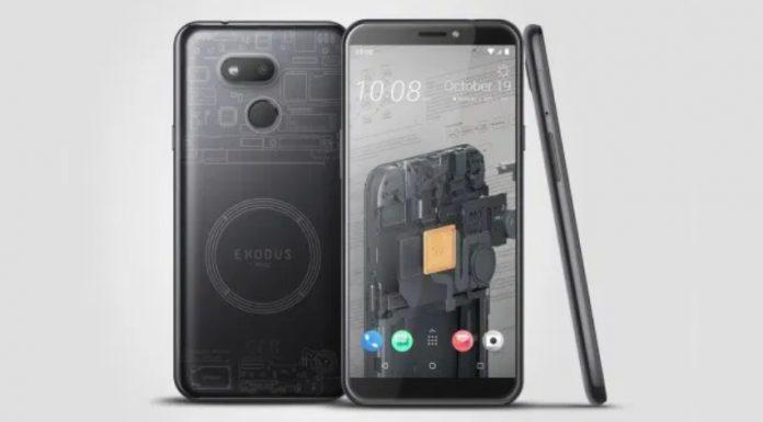 "HTC launches Exodus 1s ""cryptophone"""