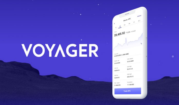 Voyager Cryptocurrency Exchange and Asset Broker Releases Android App