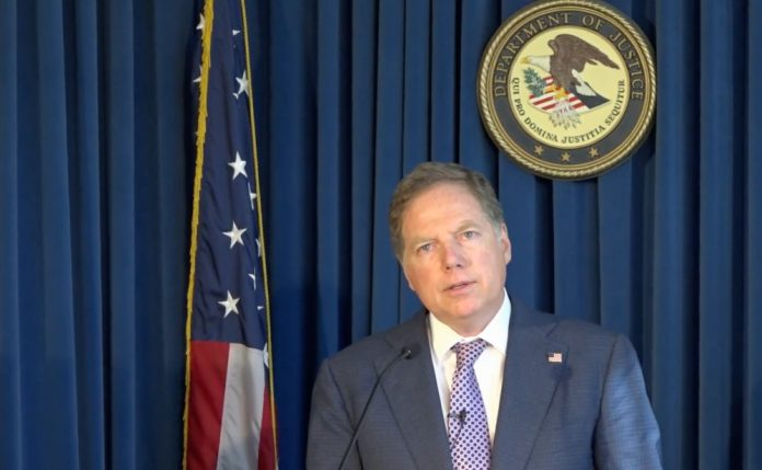 U.S. Attorney Geoffrey Berman may drop a Fowler bomb on Bitfinex in January (via Department of Justice).