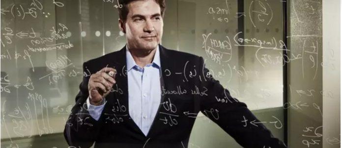 Craig Wright writing math equations