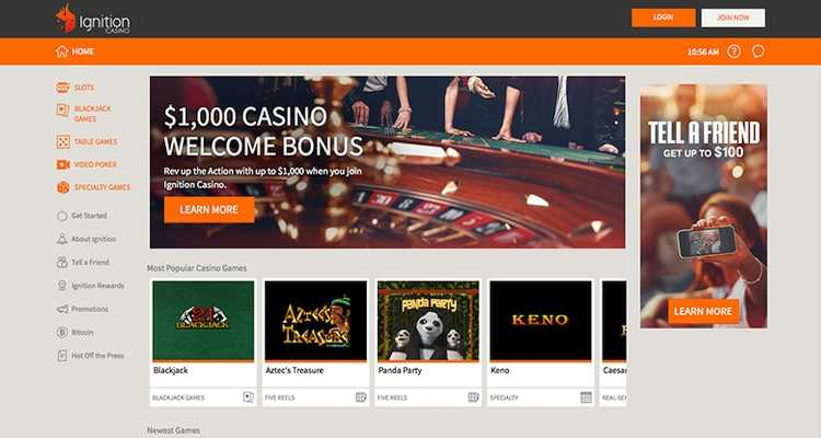 Ignition Casino Homepage - Best Safe Bitcoin Casinos