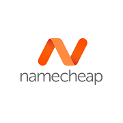 Namecheap logo - Namecheap accepts bitcoin as payment.