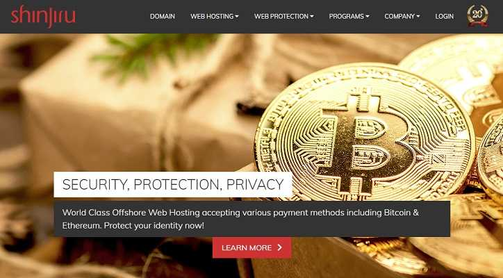 shinjiru bitcoin offshore hosting