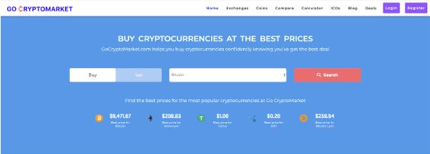 Go CryptoMarket