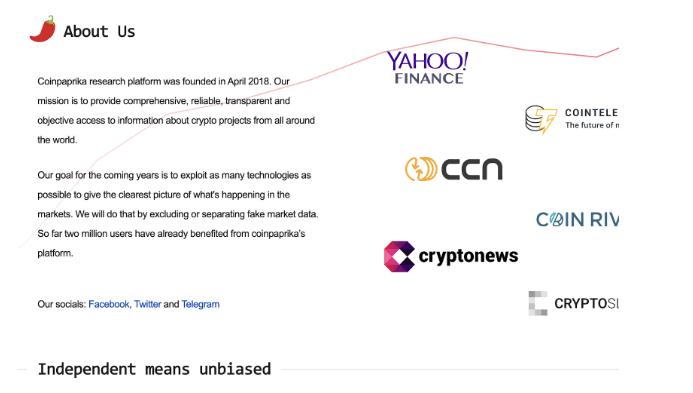 free crypto tools - coinpaprika