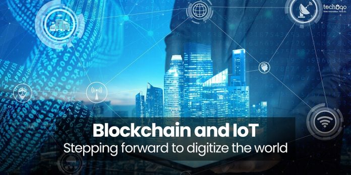 Blockchain And IoT Stepping Forward To Digitize The World (1)