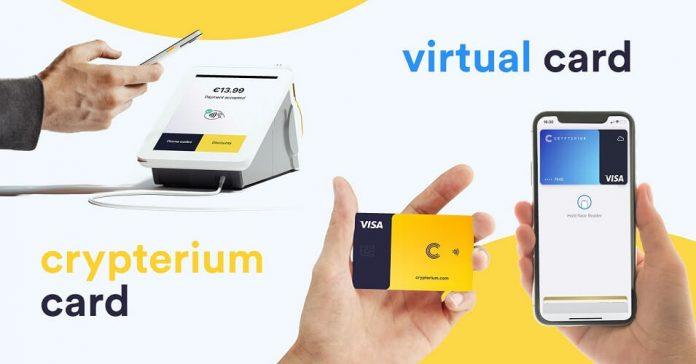crypterium virtual card