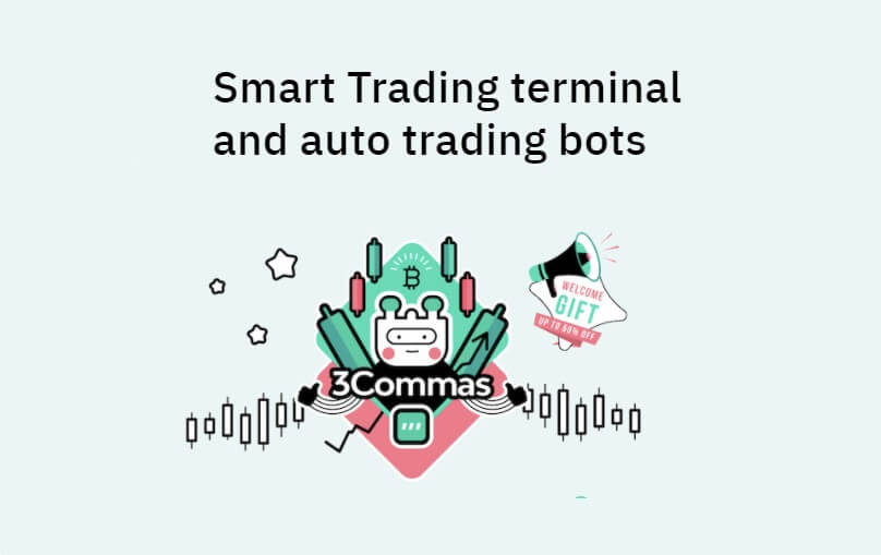 3Commas — Smart Trading terminal and auto trading bots