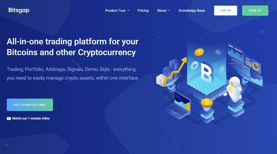Bitsgap — Automated Crypto Trading
