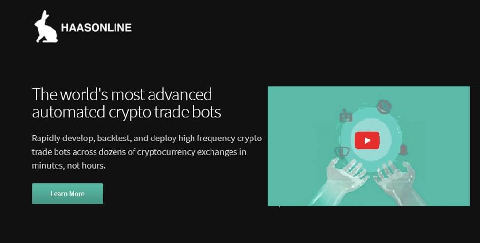 HaasOnline — Unique paid crypto trading bot