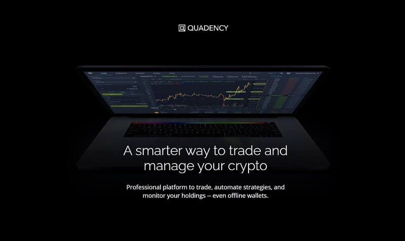 Quadency is one of the Best Crypto Trading Bot 2020