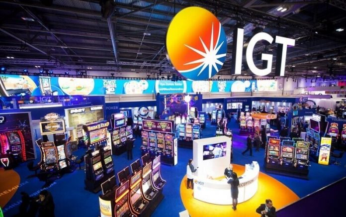 Image of slot machines by IGT