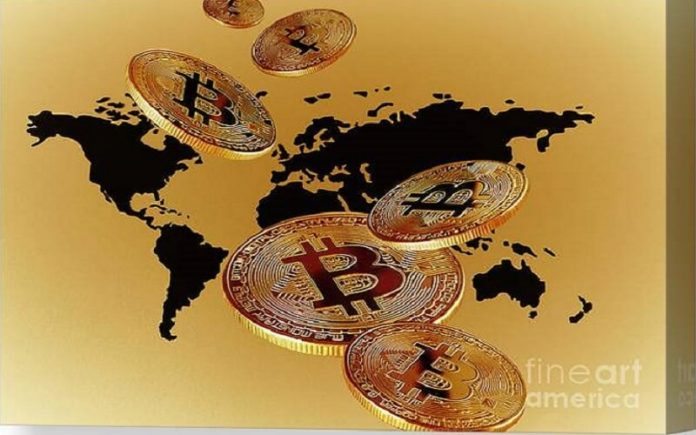 bitcoin holds total value of almost $1 Trillion