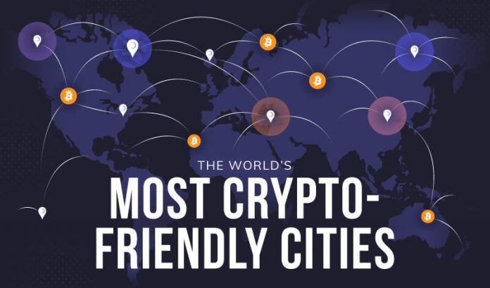 worlds most crypto friendly cities