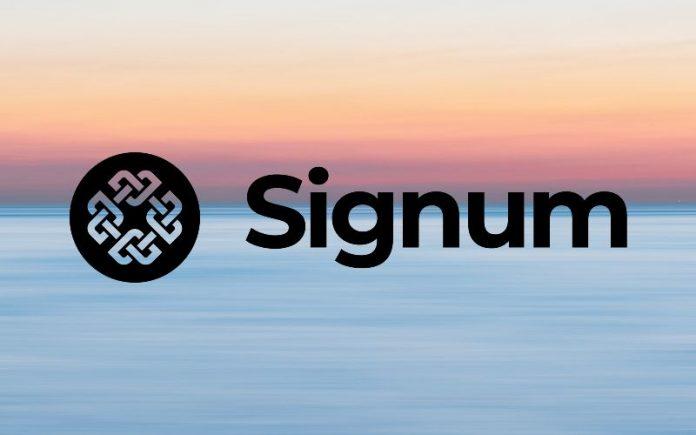 signum blockchain logo